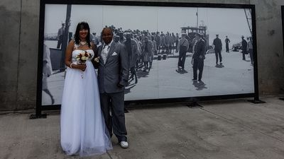 A celebration of love on Robben Island