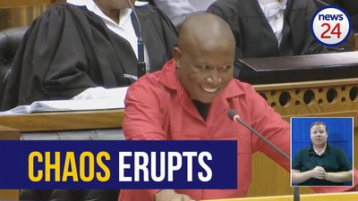 WATCH FULL | MPs disrupt Julius Malema's SONA debate speech