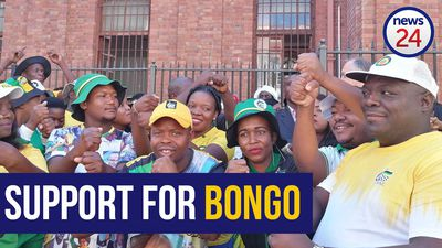 WATCH | ANC members vow to go to 'any court' in support of Bongani Bongo