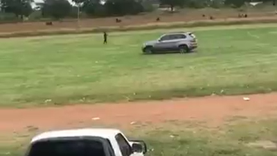 BMW DRIVER TRIES TO KILL REFEREE