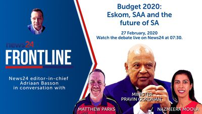 Frontline | Budget 2020, Eskom, SAA and the future of SA