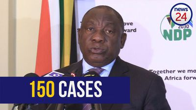 WATCH | Ramaphosa confirms number of coronavirus cases in SA hits 150