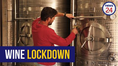 WATCH | Winemaker barrels final harvest ahead of 21-day coronavirus lockdown