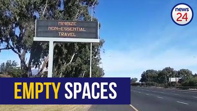WATCH | Tourist hotspots, highways and city centres all deserted as lockdown takes effect