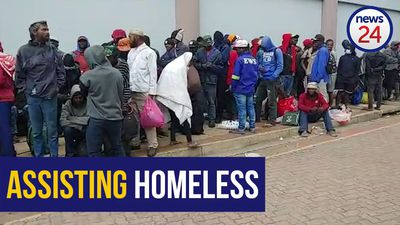 WATCH | Hundreds of Durban's homeless people assisted by the city amid lockdown