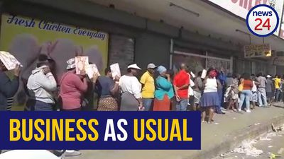 WATCH | Loitering, long queues and no signs of social distancing in Alexandra