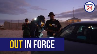 WATCH | 'Go home' - police and army personnel enforce lockdown regulations in Khayelitsha