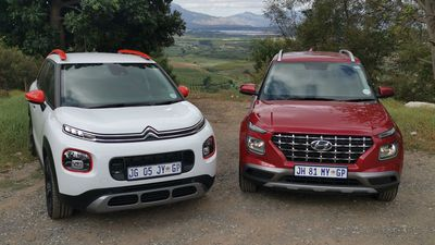 Citroën C3 AirCross & Hyundai Venue - here's what's on offer