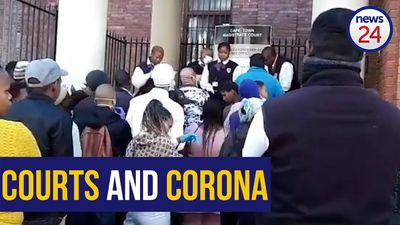 WATCH | Stand back! How this Cape court is coping with coronavirus rules