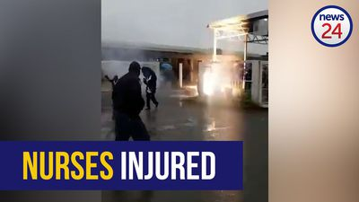 WATCH   2 Free State healthcare workers injured during protest after police open fire
