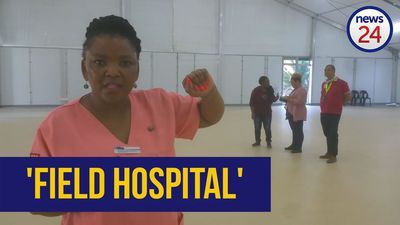 WATCH | Inside the WC's first 'field hospital'