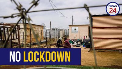WATCH | Life in lockdown: Poverty keeps residents in informal settlements from staying home