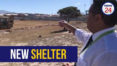 WATCH | Race against time to complete temporary shelter for 2 000 homeless people in Cape Town