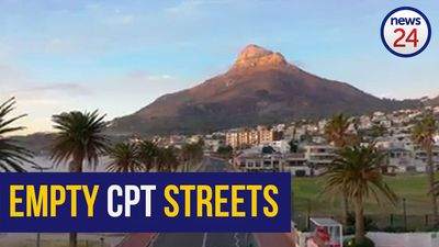 MUST SEE | Drone footage shows serene visuals of Cape Town's sleepy streets