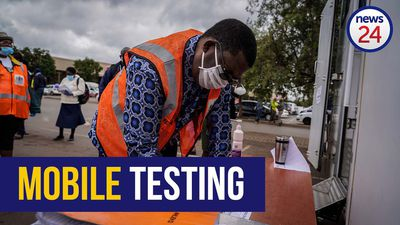 WATCH | MEC Panyaza Lesufi tests Covid-19 mobile stations during awareness walkabout in Tembisa