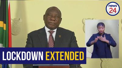 WATCH | 9 April: Ramaphosa extends lockdown for 2 more weeks