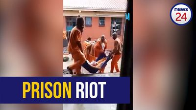 WATCH | Shots fired as prison officials and inmates clash in Gauteng