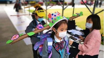 Extra measures taken as Chinese children return to school