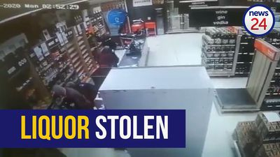 WATCH | Alcohol worth more than R60 000 stolen from Tops in Free State