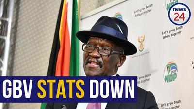 WATCH | Bheki Cele announces drop in GBV cases, urges public to report crimes to police