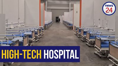 WATCH | CTICC transformed into biggest dedicated Covid-19 hospital in Africa