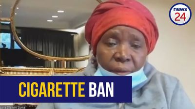 WATCH | Dlamini-Zuma doubles down on cigarette ban
