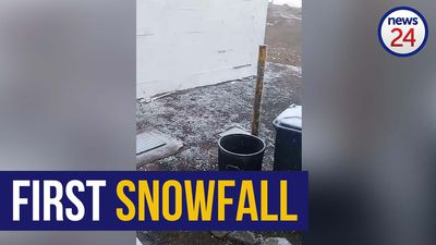 WATCH | Let is snow: Sutherland experiences first snow of 2020