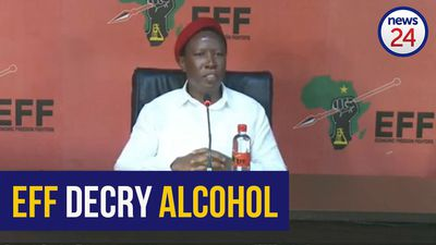 WATCH | Malema: You can't ban cigarettes and sell alcohol
