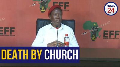 WATCH | Malema pleads with worshippers: 'Do not go to church, you will die'