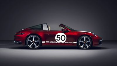 Porsche reveals limited edition Targe Heritage Design Edition