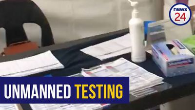 WATCH | Johannesburg man calls out Life Flora hospital for leaving Covid-19 testing tents unmanned
