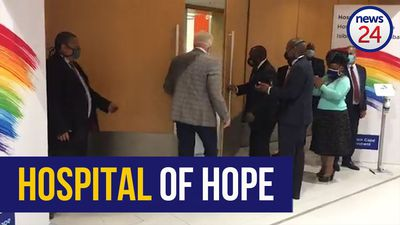 WATCH | President Ramaphosa opens the doors to Cape Town's new 'Hospital of Hope' at the CTICC