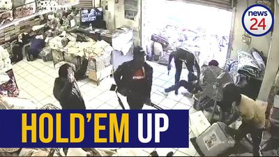 WATCH | Seven armed robbers storm store in Northdale, Pietermaritzburg