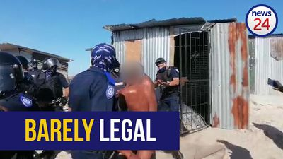 WATCH | City of Cape Town urgently probing incident in which naked man's shack is torn down