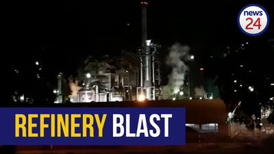 WATCH | Blast rocks Cape Town refinery, structure damaged