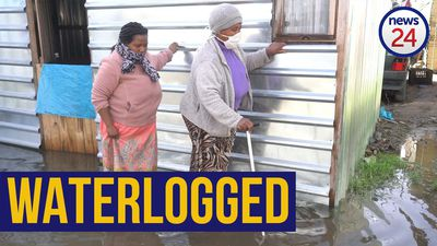 WATCH   Treading water: Storm-ravaged Gugulethu residents get relief from Gift of the Givers