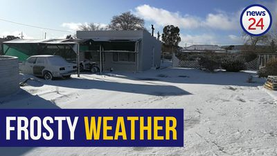 WATCH | Northern Cape covered in snow as temperatures plummet