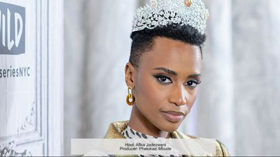 Miss Universe 2019, Zozibini Tunzi wants women to confront their fears this Women's Month and beyond