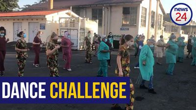 WATCH | Frere Hospital doctors and nurses spread cheer with dazzling dance challenge