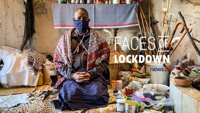 WATCH | FACES OF LOCKDOWN: Mkhulu Zama Ndebele