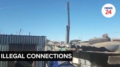 WATCH | City Power clamps down on illegal connections in Slovo Park, Coronationville