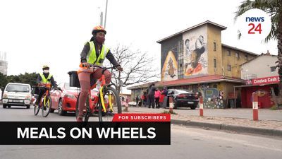 WATCH | Free meals: Langa soup kitchens use bicycles to deliver food to the elderly