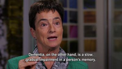 The special needs of people with dementia