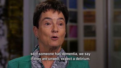 Identifying People With Dementia And Delirium