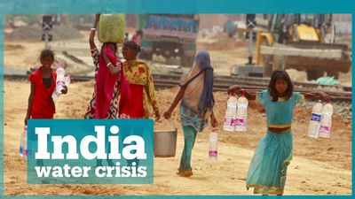 India facing the worst water crisis in its history
