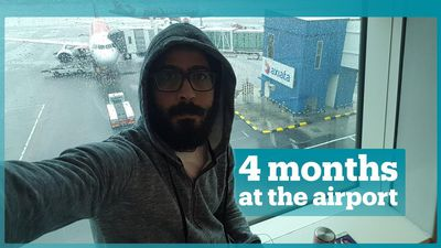 Syrian man stranded at Malaysian airport for 4 months