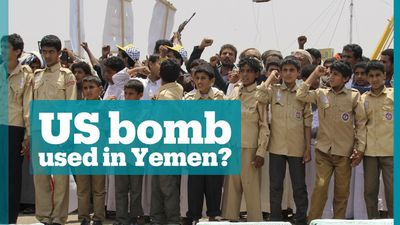 US 'supplied bomb' that killed 40 children in Yemen