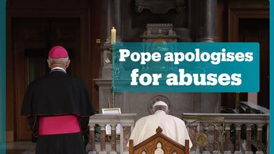 Pope apologises for Catholic Church crimes