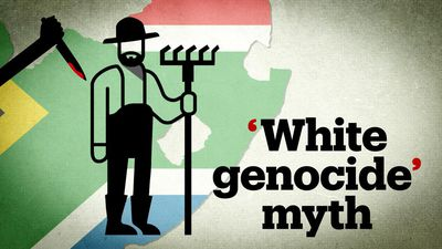 The far-right's myth of South African 'white genocide'