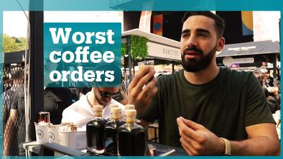 Worst coffee orders baristas have received